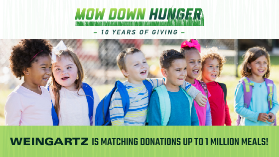 2019 Mow Down Hunger Hero Image